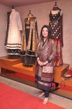 Ritu Kumar at  her New Flagship Store