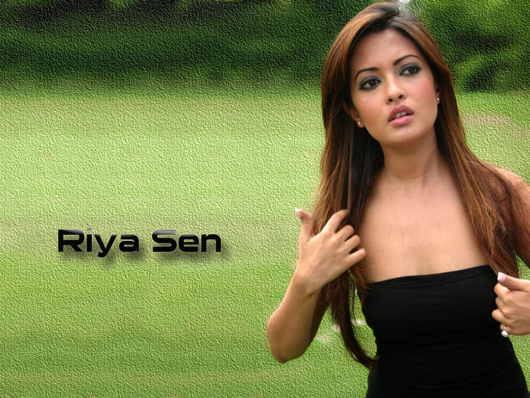 Riya Sen Stunning Face Wallpaper