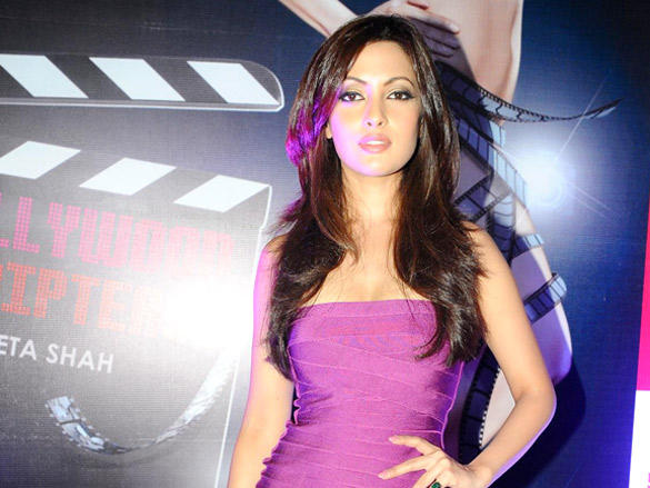 Riya Sen at Book Launch of Bollywood Striptease