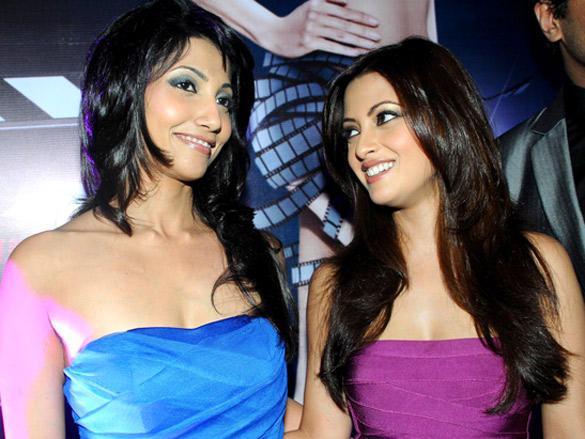 Riya Sen sleeveless dress still at Book Launch of Bollywood Striptease