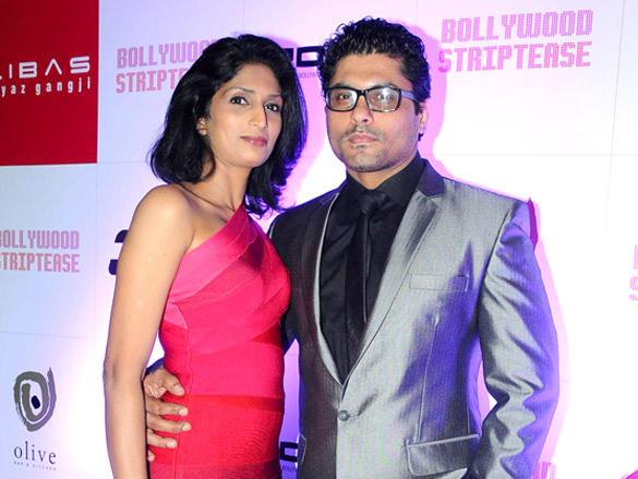 Riyaz Gangji,Reshma Gangji at Book Launch of Bollywood Striptease