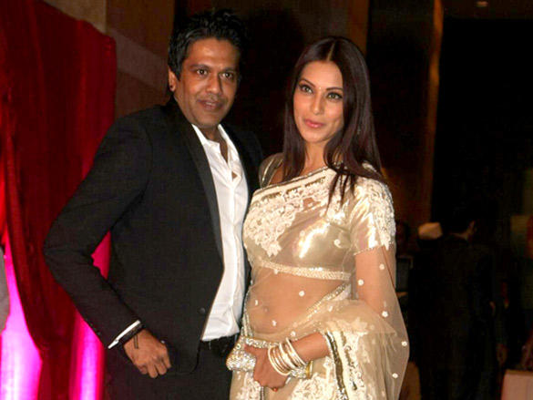Rocky S,Bipasha Basu at  Riteish and Genelia's reception