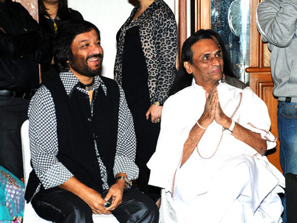 Roop kumar and Narayan at  launch of Deepak Pandit's album Miracle