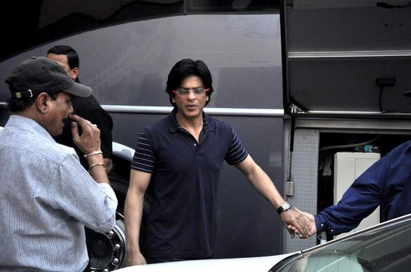 SRK at the Mehboob Studio