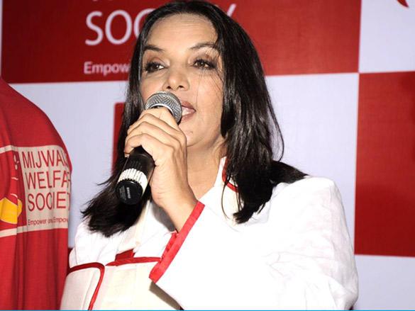 Sabana talking to the Media at Mijwan Press Conference