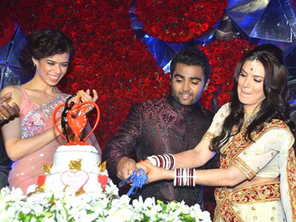 Sachin Joshi and Urvashi Sharma wedding reception