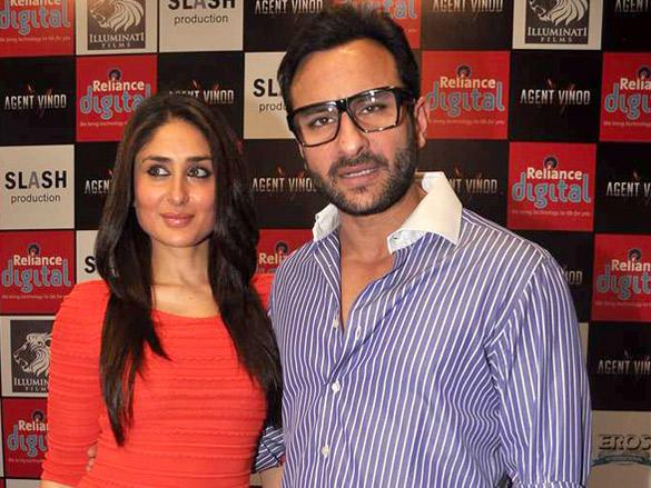 Saif,Bebo Promote Agent Vinod Together