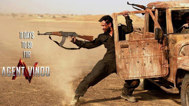 Saif Ali Khan In Agent Vinod New Movie Poster