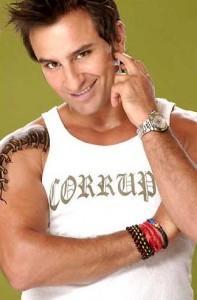 Saif Ali Khan Sexy Smile Pic