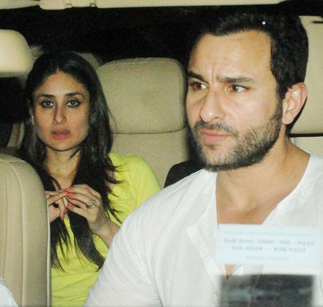 Saif Ali Khan Spotted Along With His Son Ibrahim,Kareena and Karishma