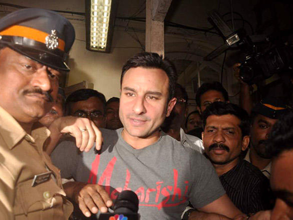 Saif Meets the Media to Clarify Controversy