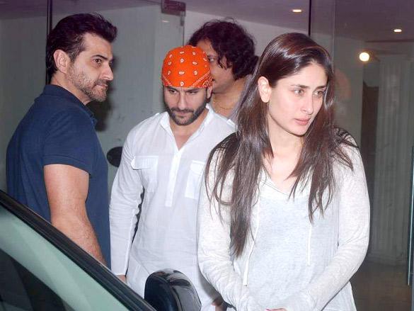 Saif and Kareena Pays Tribute To Mona Kapoor