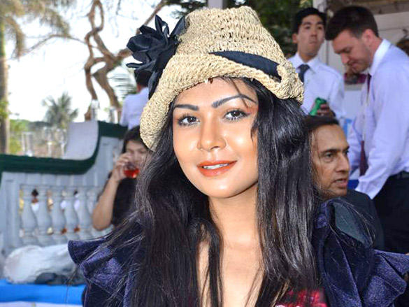 Sakshi Pradhan during Poonawalla breeders Multi Million race