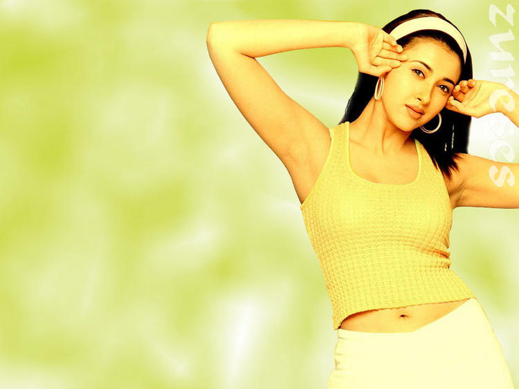 Sakshi Shivanand Sexy Navel Show Wallpaper