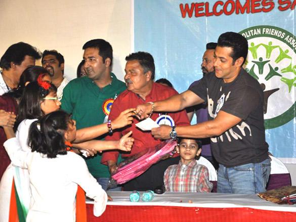 Salman Khan Charity Work For Cosmopolitan Friends Association