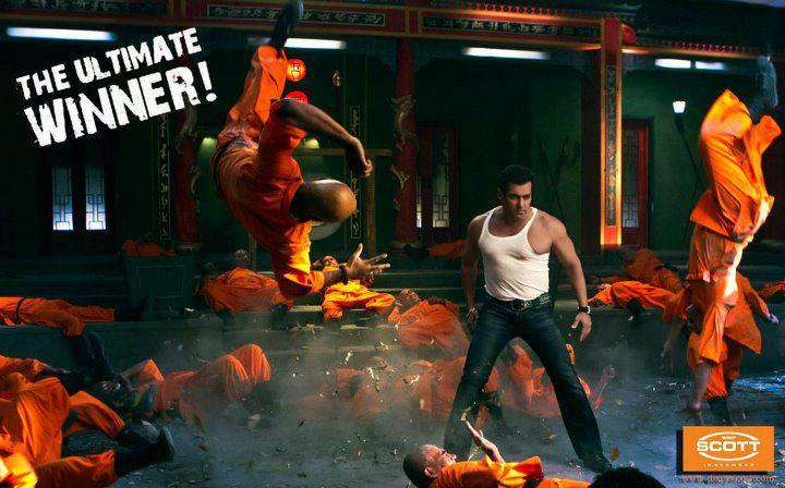Salman Khan Dixcy Scott Innerwear Ad Photos