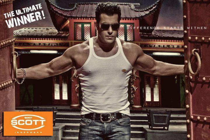 Salman Khan Latest Advertisement For Dixcy Scott