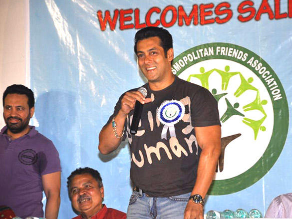 Salman Khan at Cosmopolitan Friends Association Event Pictures