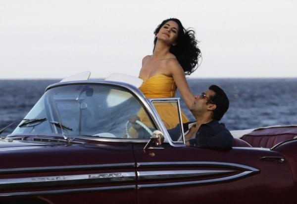 Salman and Katrina are working on scenes for their latest film Ek Tha Tiger