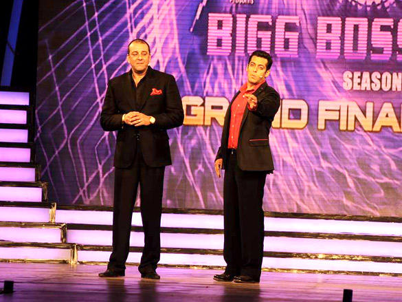 Salman and Sanju Baba hosting Bigg Boss Grand Finale