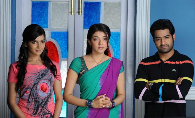 Samantha,Kajal and ntr In Brindavanam