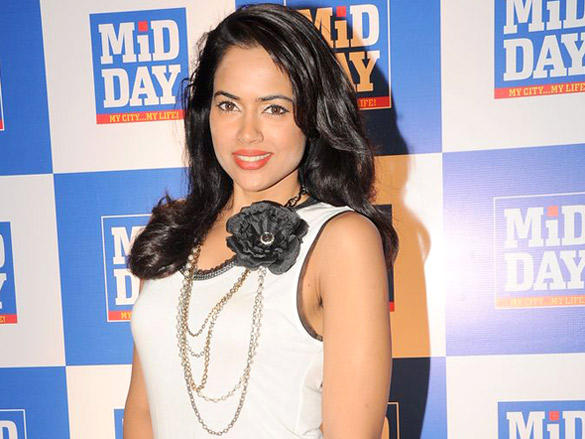 Sameera Reddy  at Launch of Mid-Day Mumbai Anthem