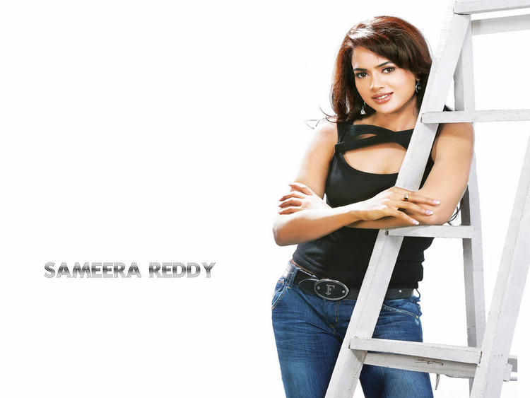 Sameera Reddy Awesome Face Look Wallpaper