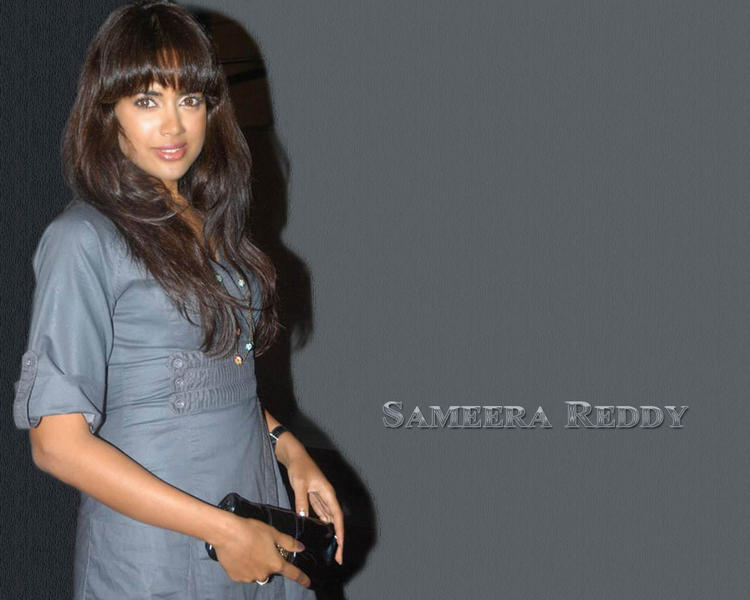 Sameera Reddy Hair Style Latest Wallpaper