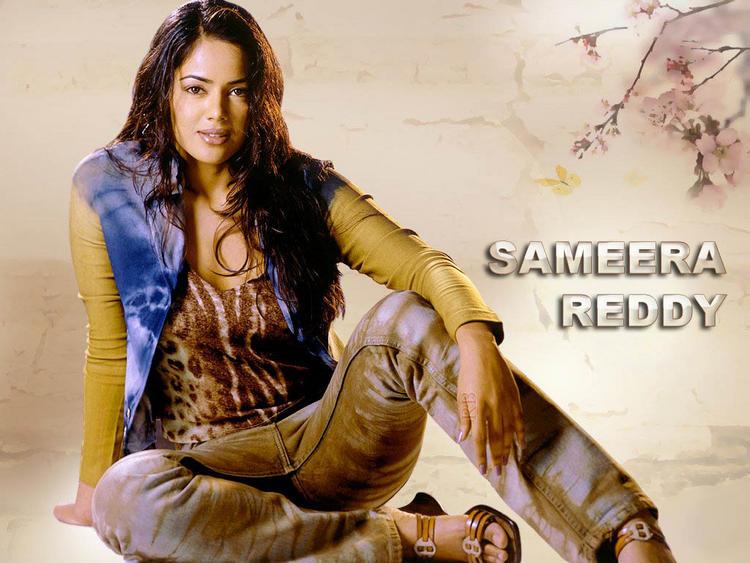 Sameera Reddy Hot Wallpaper