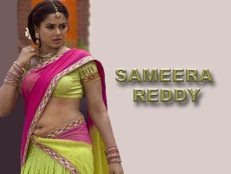 Sameera Reddy Latest Hot Wallpaper