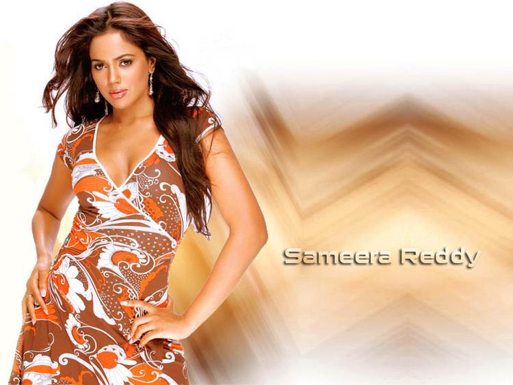 Sameera Reddy Sexiest Look Wallpaper