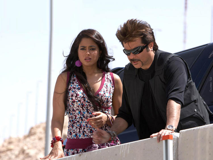 Sameera Reddy and Anil Kapoor Stunning Pic