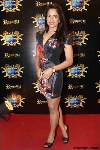 Sameera Reddy at Riteish-Genelia's pre-wedding bash