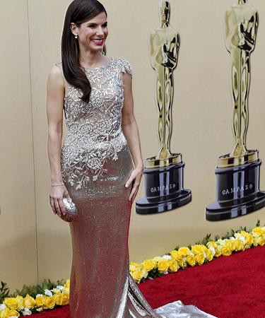 Sandra Bullock at Oscars 2010