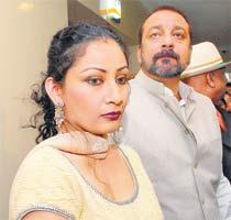 Sanjay Dutt,Manyata Dutt Glamour Photo