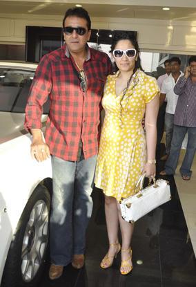 Sanjay Dutt Gifts Wife Manyata a New Rolls Royce