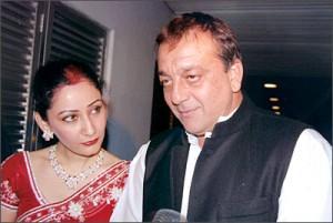 Sanjay Dutt With Spouse Manyata Dutt