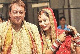 Sanjay Dutt and Manyata Dutt Stunning Pic