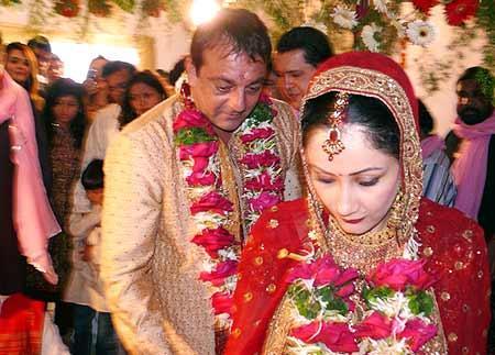 Sanjay Dutt and Manyata Dutt Wedding Photo