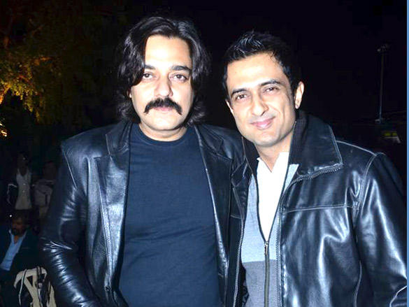 Sanjay Suri,Chandrachur  poses to photo shoot