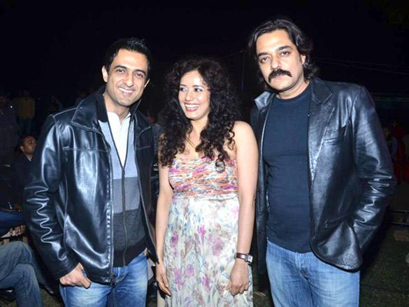 Sanjay Suri,Chandrachur at Shreya's film Palchinn mahurat