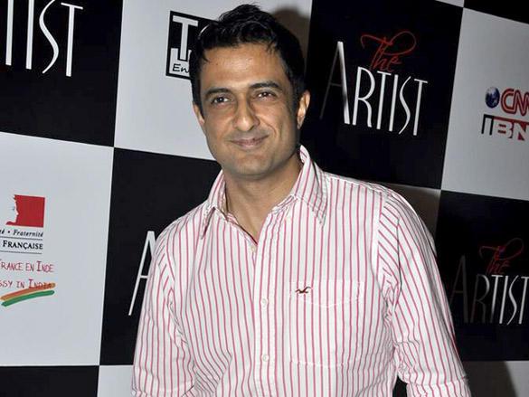 Sanjay Suri at a special screening of The Artist