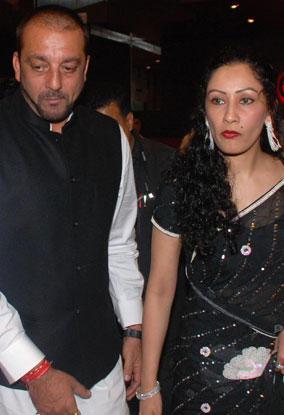 Sanjay and Manyata Close Up Pic