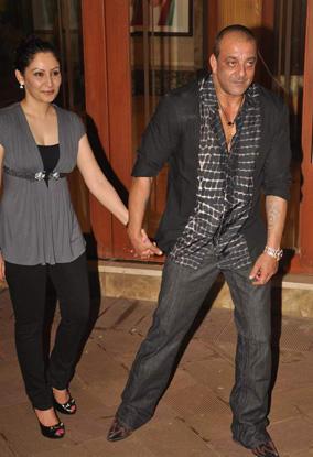 Sanjay and Manyata Glamour Still