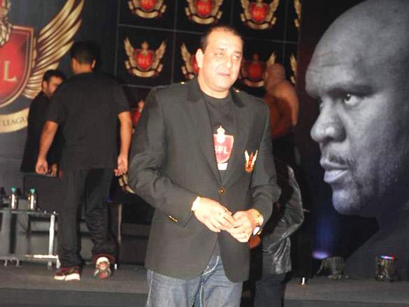 Sanjay Dutt at Super Fight League