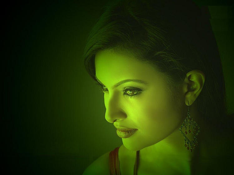 Sayali Bhagat in Dark