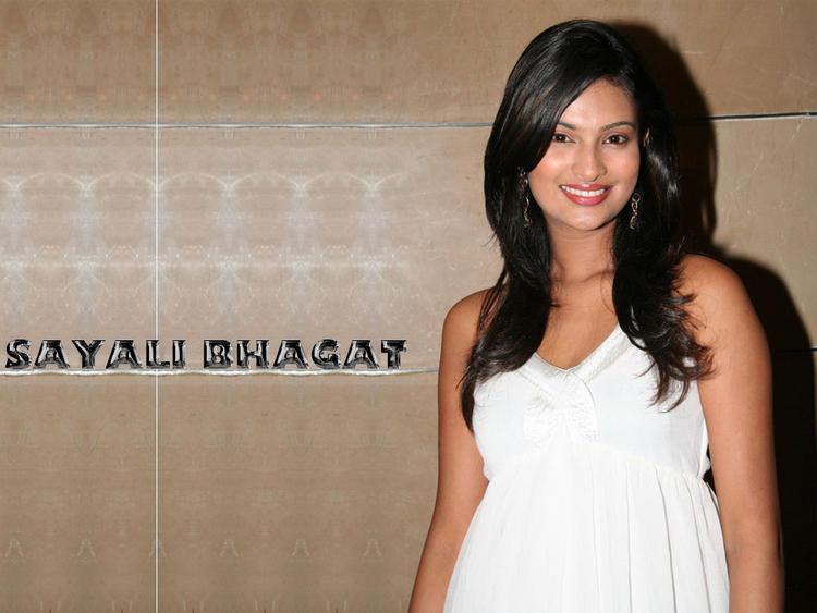 Sayali Bhagat in White
