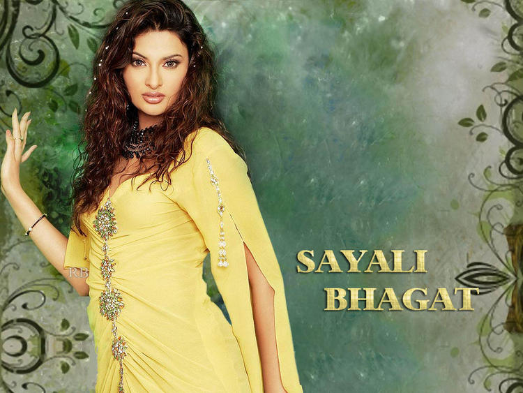 Sayali Bhagat in Yellow
