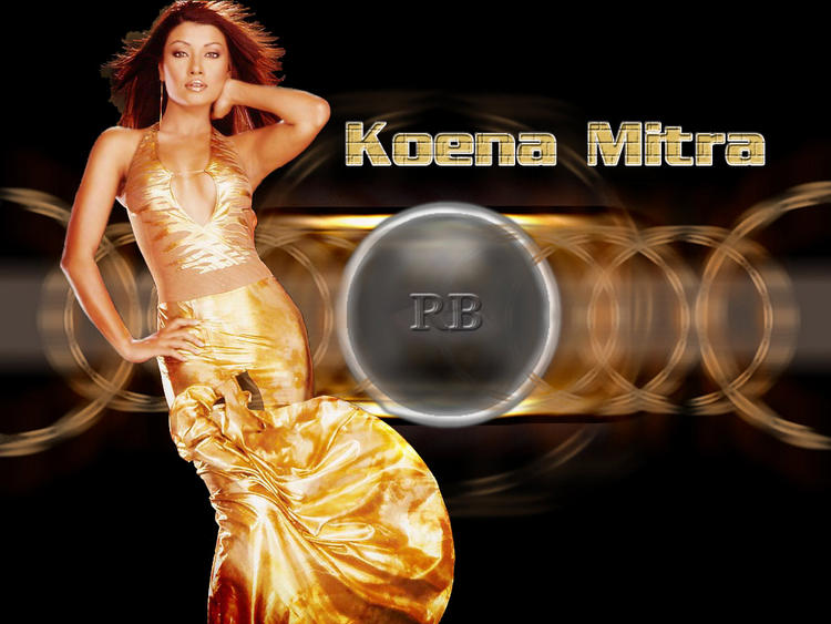 Sexiest Actress Koena Mitra Wallpaper