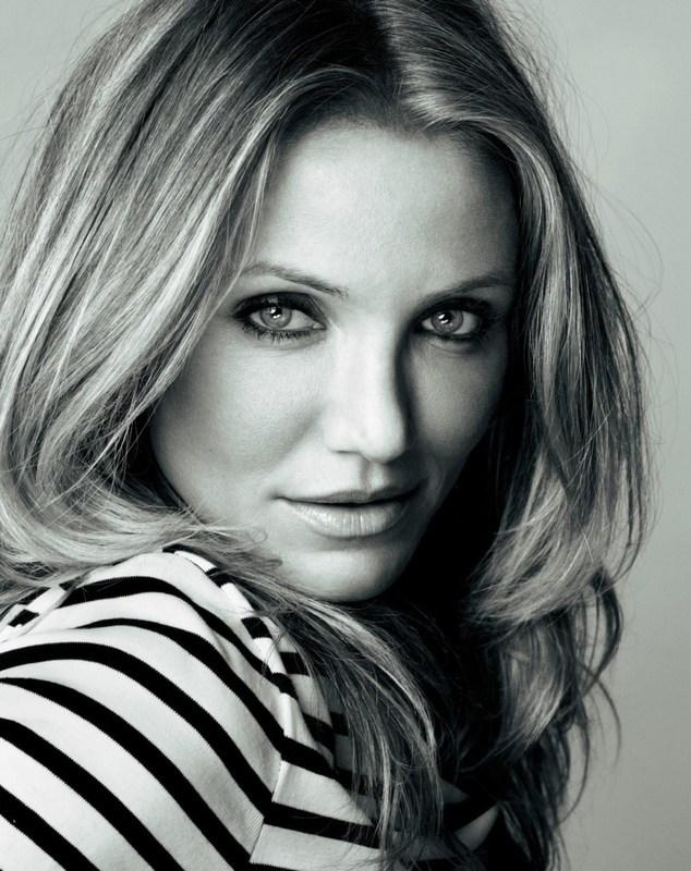 Sexy Cameron Diaz Romantic Look Pic